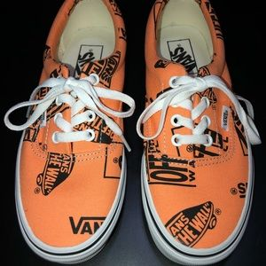 Vans Logo Mix Era Tangerine Shoes (Unisex)
